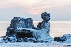 Forts brisés en hiver Image libre de droits