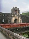 FortSantiago i Manila, Filippinerna arkivfoto