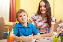 Fortschritt in der Schule lizenzfreies stockfoto