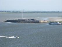 FortSumpter, Charleston Harbor South Carolina Royaltyfri Fotografi