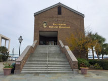 FortSumter nationell monument Arkivfoton