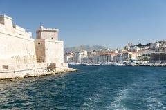 Fortu święty Jean, Marseille Zdjęcie Royalty Free