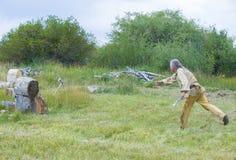 Fortu Bridger rendez-vous 2014 Fotografia Royalty Free