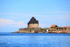 Fortu Christiansoe wyspa Bornholm Dani obraz stock