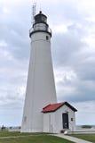 Fortu Gratiot latarnia morska Zdjęcia Royalty Free