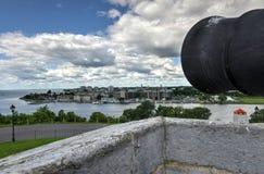 Fortu Henry Historycznego miejsca Krajowy działo obrazy stock