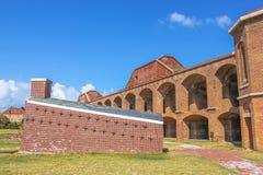 Fortu Jefferson podwórze zdjęcie stock