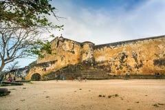 Fortu Jezusowy muzeum w Mombasa, Kenja, Obraz Stock