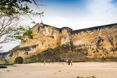 Fortu Jezusowy muzeum w Mombasa, Kenja Fotografia Stock