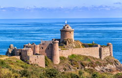 Fortu losu angeles Latte, Bretagne, Francja Zdjęcie Stock