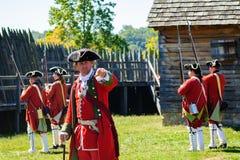 Fortu Loudoun stanu Historyczny miejsce obraz stock