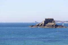 Fortu obywatel w świętym Malo fotografia royalty free