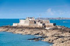 Fortu obywatel w świętym Malo, Francja obraz stock