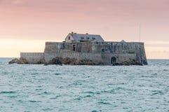 Fortu obywatel w świętym Malo, Francja obrazy royalty free