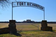 Fortu Richardson szpital wojskowy Zdjęcie Royalty Free