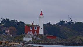 Fortu Rodd latarnia morska Zdjęcia Royalty Free