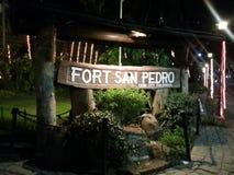 Fortu San Pedro Cebu miasto Obraz Royalty Free