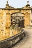 Fortu St Cristobal drzwi Obraz Royalty Free