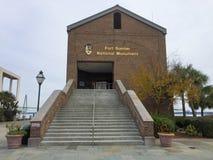Fortu Sumter Krajowy zabytek Zdjęcia Stock