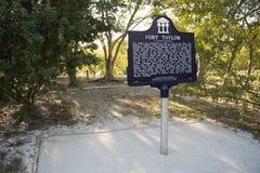 Fortu Taylor informaci znak Zdjęcie Royalty Free