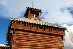 Fortu wierza w Yakutsk Fotografia Royalty Free