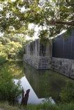 Fortu Zachary Taylor fosa przy Krajowym Historycznym stanu parkiem, Key West, Floryda, usa Obrazy Royalty Free