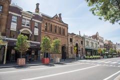 Fortuin van Oorlog: Sydney Pub royalty-vrije stock foto's