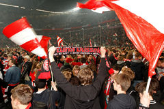 Fortuna Düsseldorf v Hertha BSC Berlin. Royalty Free Stock Photo