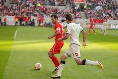 Fortuna Dà ¼sseldorf V Borussia Mönchengladbach Arkivbild