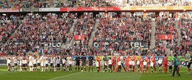 Fortuna Düsseldorf V Borussia Mönchengladbach Fotografia Stock Libera da Diritti