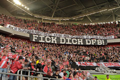 Fortuna Düsseldorf V Borussia Mönchengladbach Fotografie Stock Libere da Diritti