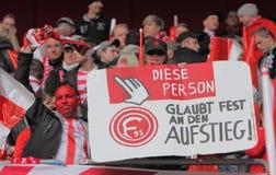 Fortuna Düsseldorf v Hertha BSC Berlin. Stock Image