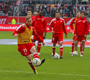 Fortuna Düsseldorf v Hertha BSC Berlin. Royalty Free Stock Image