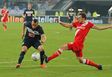 Fortuna Düsseldorf v Hertha BSC Berlin. Royalty Free Stock Images