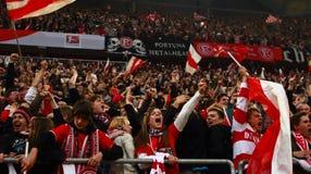 Fortuna Düsseldorf v Hertha BSCA Berlín. Imagen de archivo