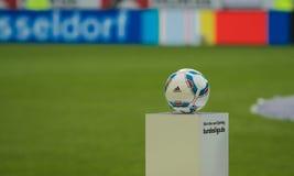 Fortuna Düsseldorf v Hertha BSCA Berlín. Imágenes de archivo libres de regalías