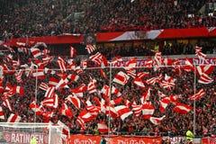 Fortuna Düsseldorf v Hertha BSCA Berlín. Fotos de archivo libres de regalías