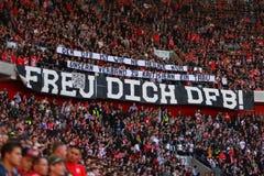 Fortuna Düsseldorf verses SC Фрайбург Стоковое Фото