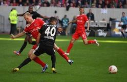 Fortuna Düsseldorf verses SC Freiburg Stock Photos