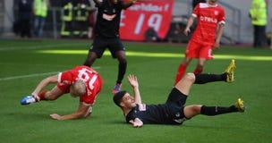 Fortuna Düsseldorf wersetów SC Freiburg Fotografia Stock