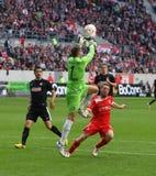 Fortuna Düsseldorf verses SC Freiburg Royalty Free Stock Images