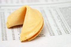 Fortuna dos investimentos Imagem de Stock Royalty Free