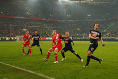 Fortuna Düsseldorf v Hertha BSC Berlin. Royalty Free Stock Photos