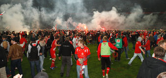 Fortuna Düsseldorf v Hertha BSC Berlin. Stock Images