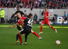 Fortuna Düsseldorf verses SC Freiburg Royalty Free Stock Photography