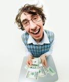 Fortuna nella lotteria Fotografia Stock