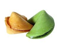 Fortuna verde e amarela Imagem de Stock