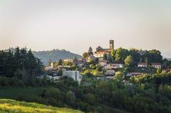 Fortunago-Landschaft lizenzfreies stockbild