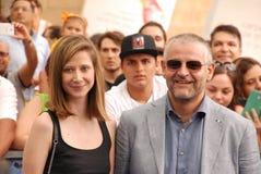 Fortunato Cerlino al Giffoni Ekranowy festiwal 2015 Zdjęcie Stock