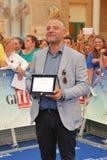 Fortunato Cerlino al Giffoni Film Festival 2015 Arkivfoton